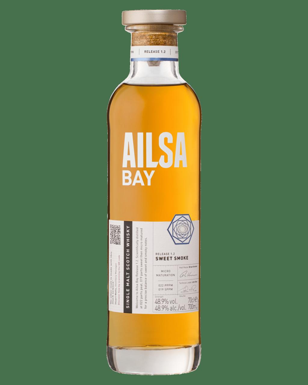 Buy Ailsa Bay Single Malt Whisky 700mL | Dan Murphy's