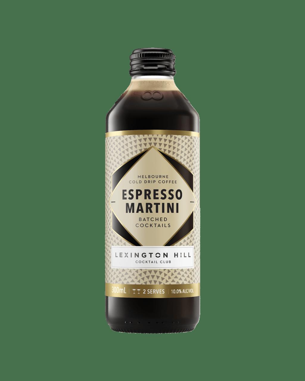 Buy Lexington Hill Cocktail Club Espresso Martini 300ml Dan Murphy S Delivers