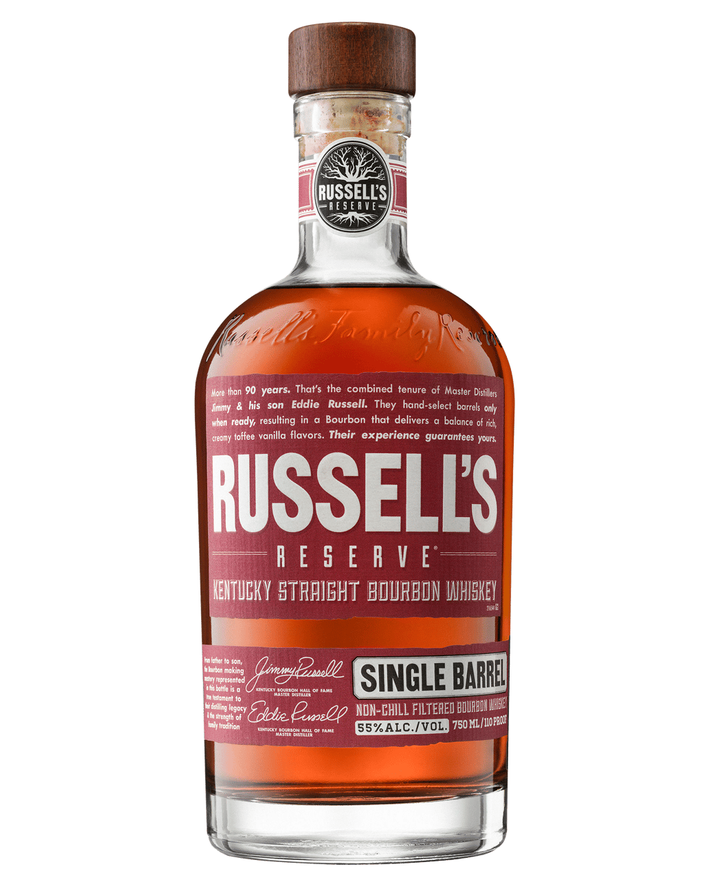Buy Russell's Reserve Single Barrel Kentucky Straight Bourbon