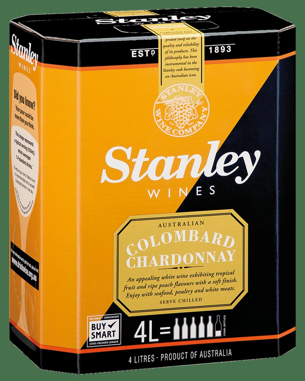 Stanley Colombard Chardonnay Cask 4l Dan Murphys Buy Wine