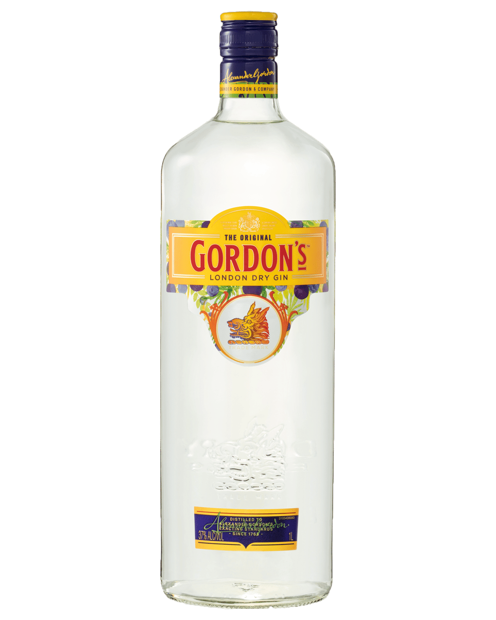 Buy Gordon S London Dry Gin 1l Dan Murphy S Delivers