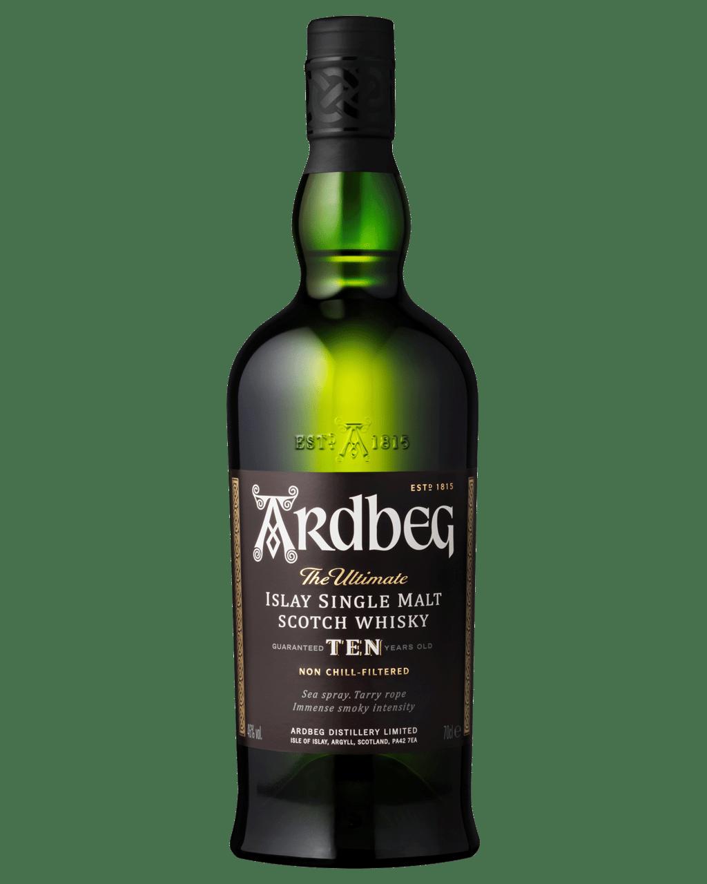 Buy Ardbeg 10 Year Islay Single Malt Scotch Whisky 700mL | Dan Murphy's Delivers