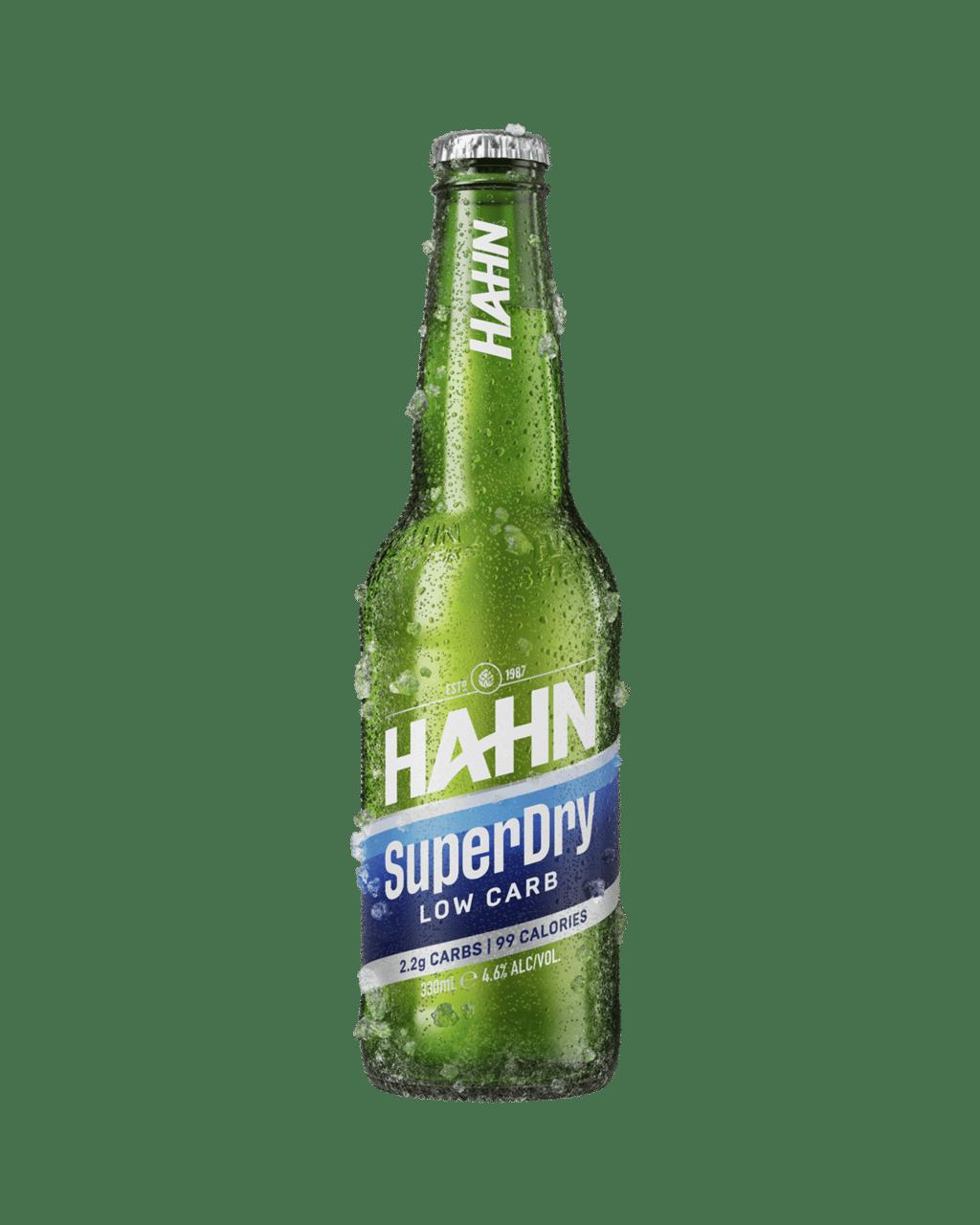 9c8dc75b58a4 Buy Hahn SuperDry Bottles 330mL   Dan Murphy's