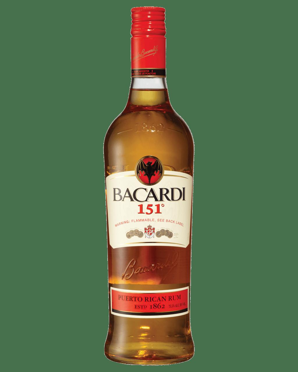 Buy Bacardi 151 Deg Rum 750ml Dan Murphy S