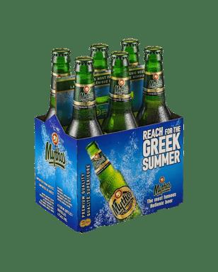 Buy Mythos Hellenic Lager 330mL | Dan Murphy's