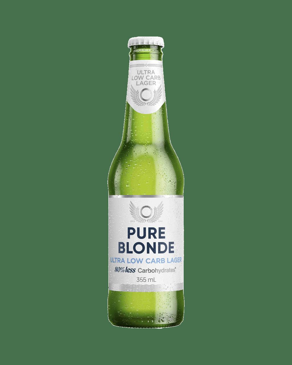 Pure Blonde Ultra Low Carb Lager 355mL | Dan Murphy\'s | Buy Wine ...