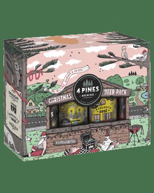 4 Pines Christmas Beer Gift Pack  035952963d19
