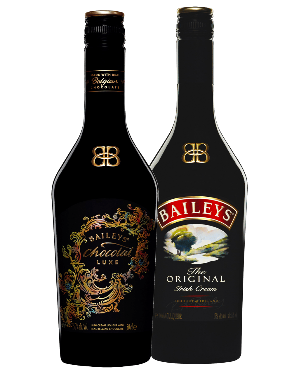 Baileys Chocolat Luxe 500mL & Irish Cream 700mL